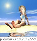 artificial, beach, blond hair 25352221