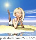 artificial, beach, blond hair 25352225
