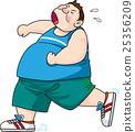 慢跑 肥胖 减肥 25356209