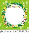 圣诞节材料租赁相框 25362788