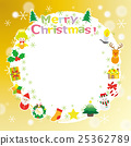圣诞节材料租赁相框 25362789