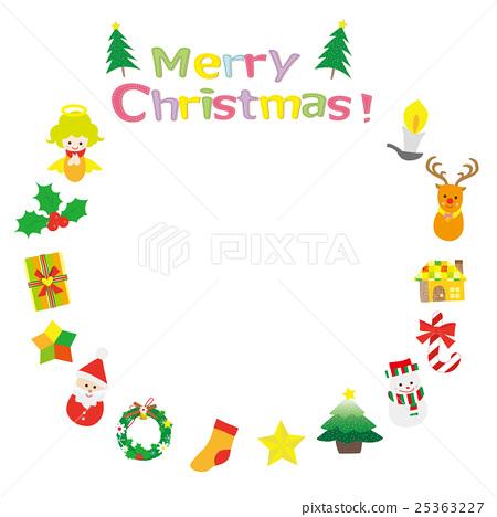 크리스마스, 성탄절, 리스 25363227