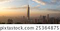 Taipei city skyline panoramic view 25364875