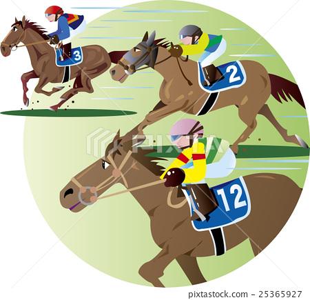 Horse race 25365927