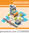 building, isometric, river 25366688