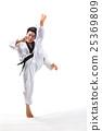 taekwondo action 25369809
