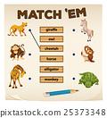 动物 游戏 智力测验 25373348