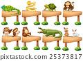 뱀, 새, 원숭이 25373817