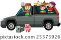 Farmers in gray truck 25373926