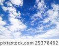 藍天天空雲彩秋天天空背景材料10月復制空間 25378492