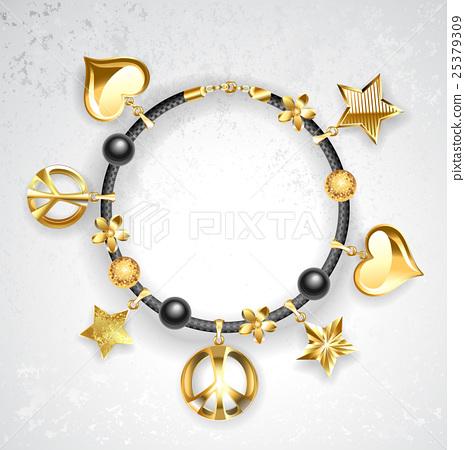 Bracelet with symbols 25379309