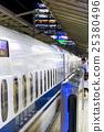 bullet train, shinkansen, the tokaido shinkansen line 25380496