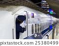 bullet train, shinkansen, the tokaido shinkansen line 25380499