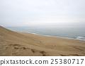 tottori sand dunes, tottori prefecture, overcast 25380717