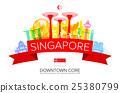Beautiful Singapore Travel Landmarks. 25380799