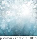 background, winter, snowflake 25383015