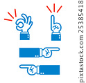 hand, set, sets 25385418