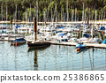 Sailboats at the pier in Brombachsee, Germany 25386865