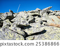 Big stones in Chopok peak, Low Tatras, Slovakia 25386866