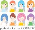 女性 女 女人 25391632