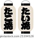 takoyaki, paper, lantern 25394526
