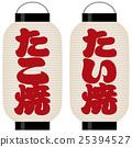 takoyaki, paper, lantern 25394527