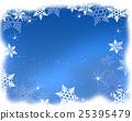 结晶 图框 框线 25395479