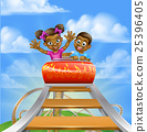 Roller Coaster Fair Theme Park 25396405