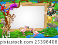 safari, animals, cartoon 25396406