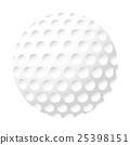 벡터, 골프공, 일러스트 25398151