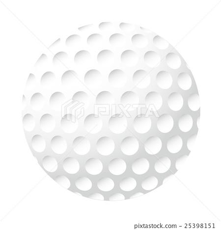 골프 공의 일러스트 25398151