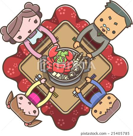 kotatsu, winter, family 25405785
