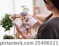여성, 여자, 책자 25406221