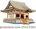 벡터, 신사, 일본 25413381
