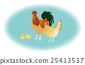 Chickens Zodiac Cochin转过身来 25413537