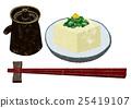 冷豆腐 豆腐 大蔥 25419107