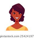 face, vector, person 25424197