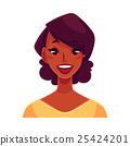 face, vector, person 25424201