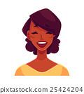 face, vector, smile 25424204