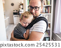 father, young, baby 25425531