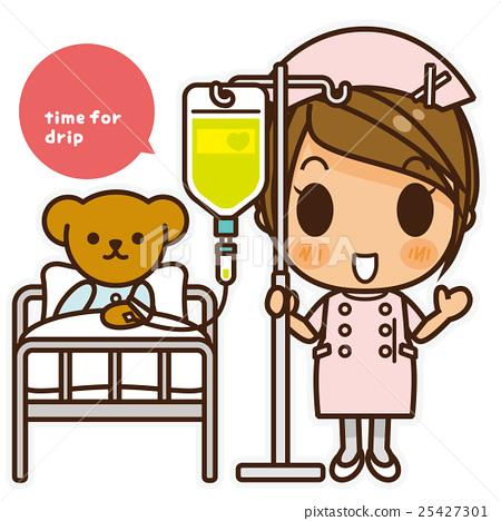 Onna-noko nurse (pink) drip infusion 25427301