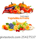 Background With Organic Fresh Vegetables. 25427537