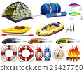 Camping set with tent and other equipment 25427760