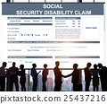 Social Security Disability Claim Concept 25437216