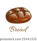 麵包 草圖 素描 25441335