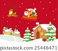 크리스마스, 이브, 벡터 25446471