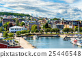 View of the ferry terminal at Horten - Norway 25446548