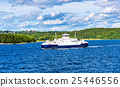 Moss - Horten Ferry crossing Oslofjord - Norway 25446556