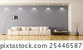 Living room interior 3d rendering 25446587