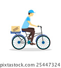 delivery bicycle man 25447324